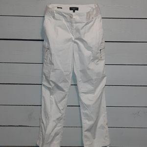 Talbots white cargo 0212